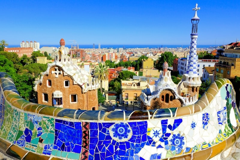 Take a stroll in Park Guell