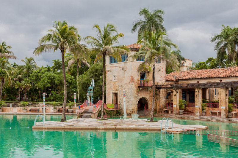 Take a Dip in the Venetian Pool in Coral Gables