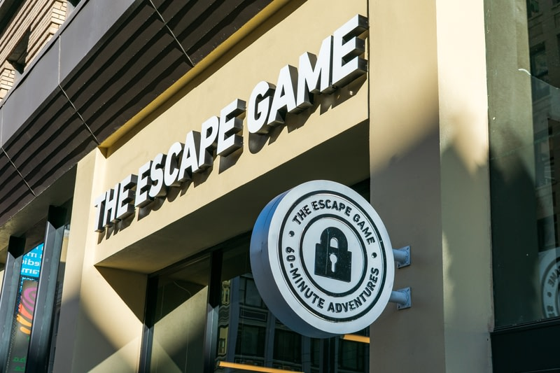 Escape from an escape room
