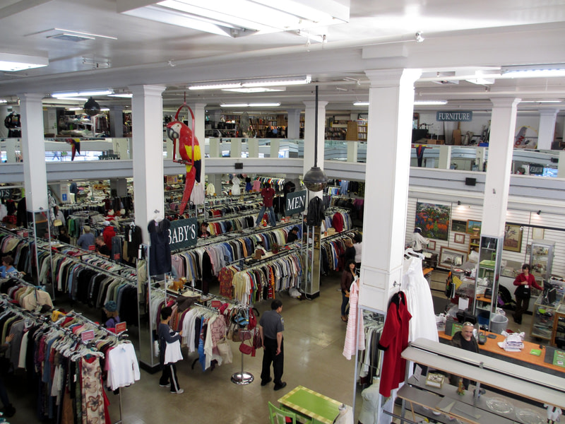 Go thrifting in New York