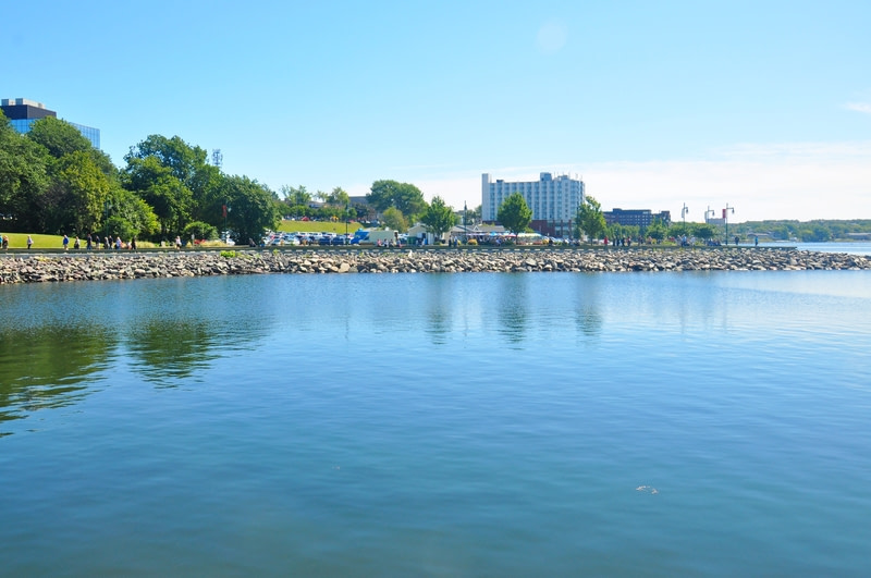 Sydney is a former city and current community located in the Cape Breton Regional Municipality of Cape Breton Island, Nova Scotia, Canada.