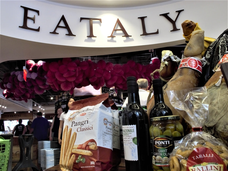 Have a taste of delicious dishes in Eataly