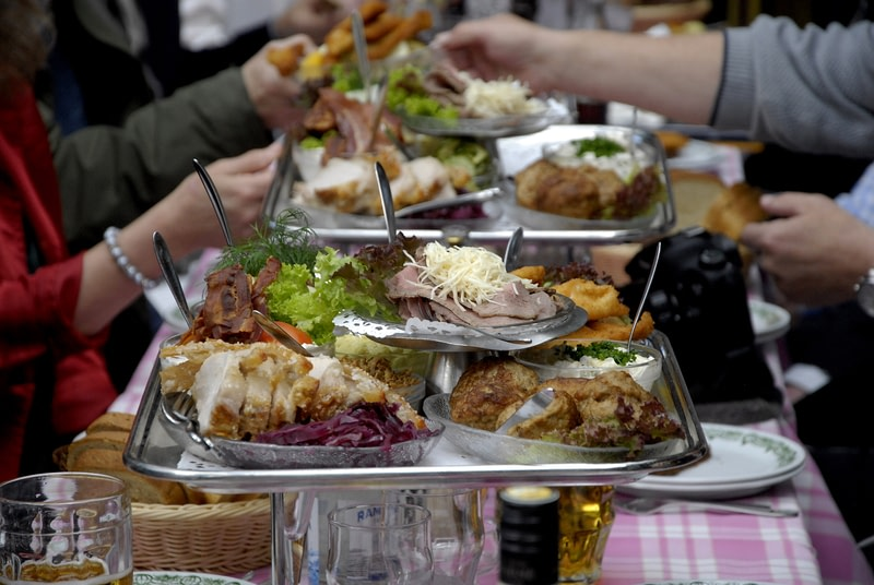 Try Traditional Danish lunch