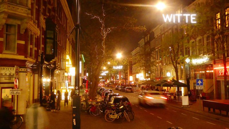 Explore the famous street Witte de Wit Rotterdam