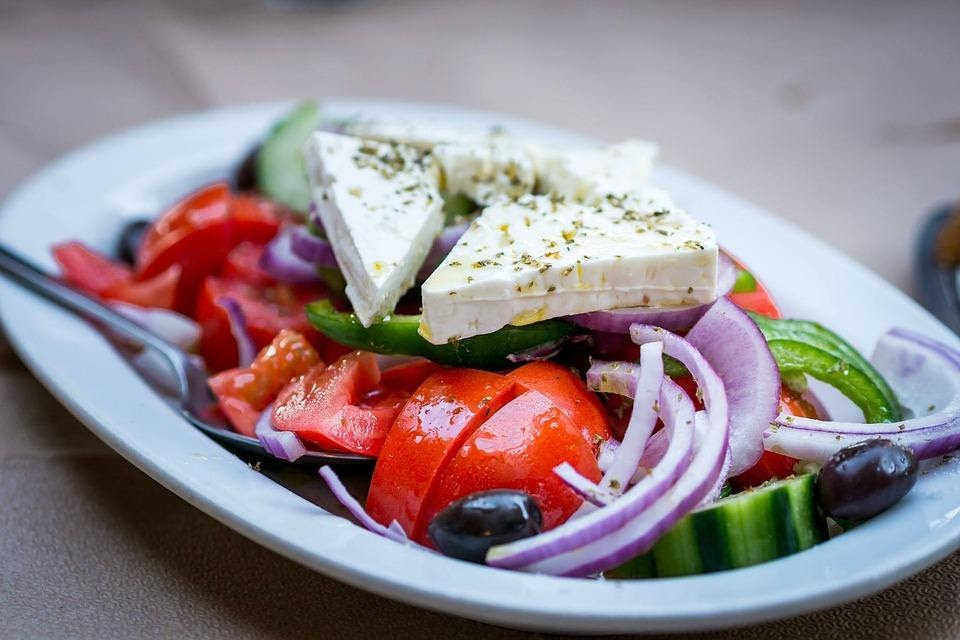 Organic Lunch at Ouzeri