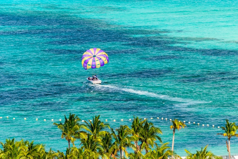 Parasailing in Miami, Florida