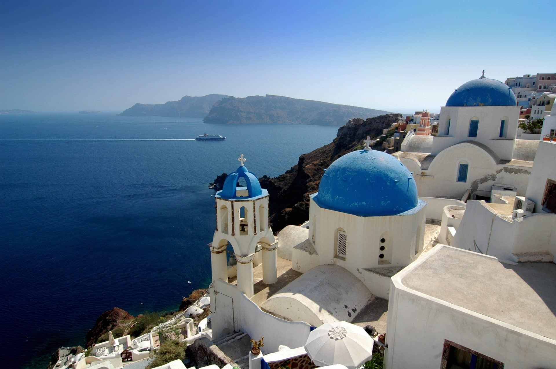Santorini's amazing views