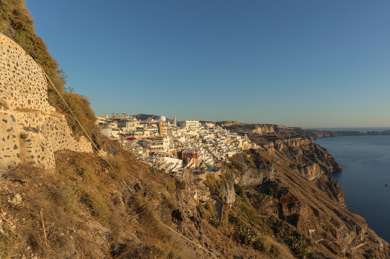 Santorini, Thira - View from cable car