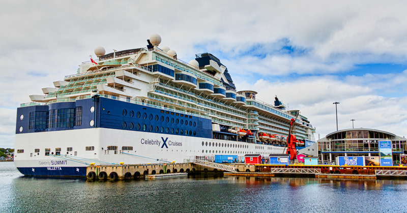 Celebrity Summit in Sydney Nova Scotia.