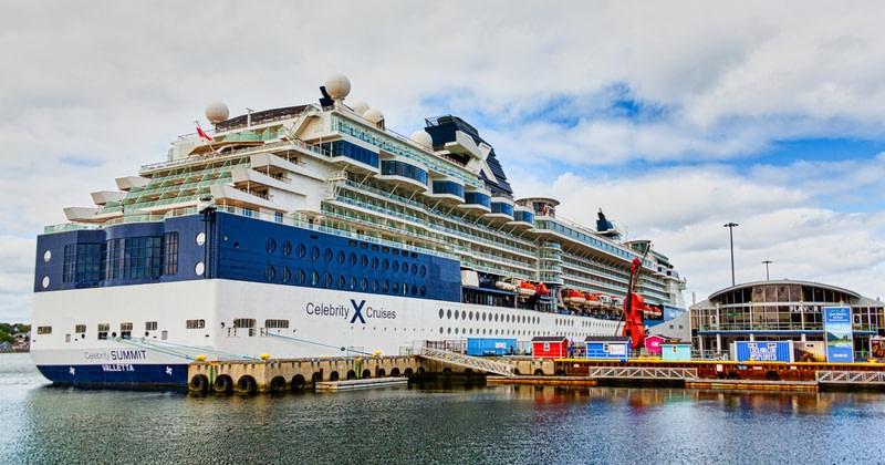 Celebrity Summit in Sydney Nova Scotia.