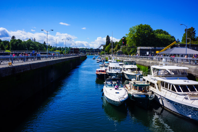 Watch Boats at Ballard Locks