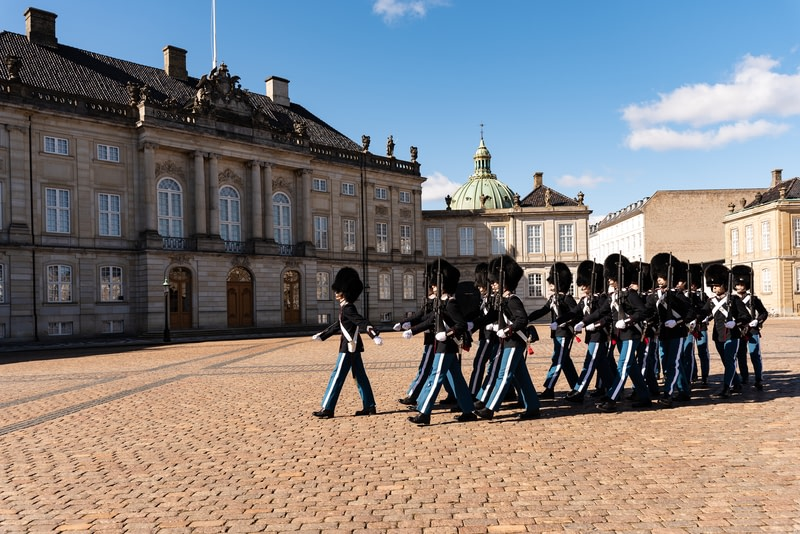 Watch the changing of the guard