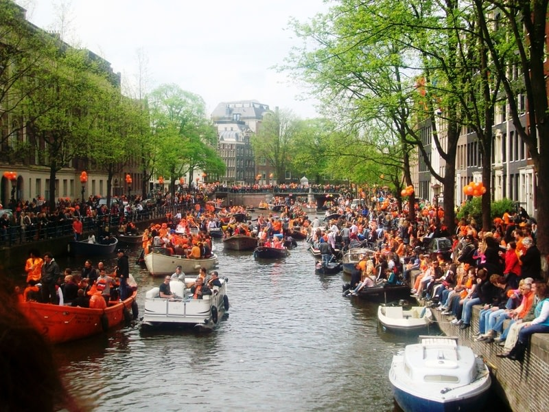 Come for King's Day (or Pride) in Amsterdam