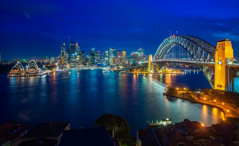 Enjoy the best view of Sydney harbour and bridge in Sydney