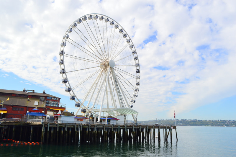 Experience the Giant Seattle Great Wheel at Pier 57