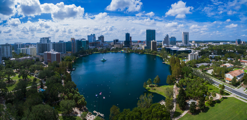 Enjoy and Relax at Lake Eola Park