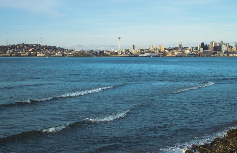 Have a perfect summer day in Alki Beach