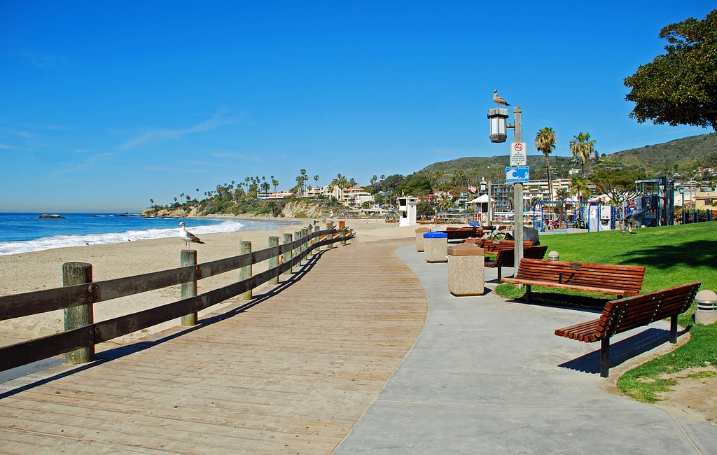 Relax at the Beach in California