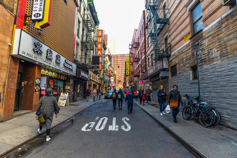 Visit Chinatown in New York